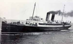 The South Eastern and Chatham Railway Company steamer Victoria. Built 1907