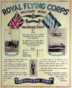 Royal Flying Corps recruiting poster
