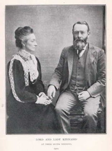 Lord and Lady Kinnaird 1900