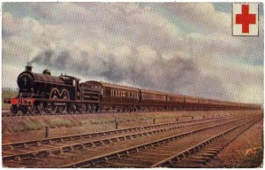 Ambulance Train of the Lancashire and Yorkshire Railway https://www.worldwar1postcards.com/ambulance-trains.php