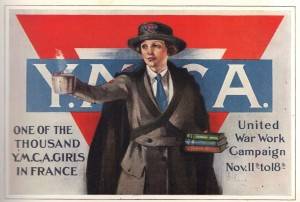 YMCA Poster Gt. War Centenary 1914 - 1918 Fb Page