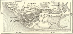 Map of Le Havre