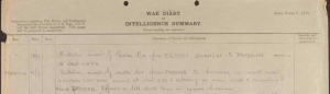 13th Welsh Division War Diary 1917