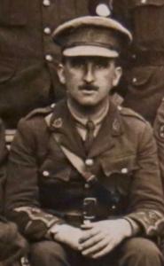 Douglas's pal Capt. John Burke while a Lieutenant.