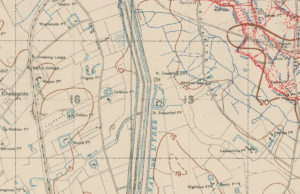 Mordacqs Camp at the 2nd Ypres was at Zwaanhof Farm just to the right of centre on the map above