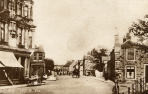 A contemporary postcard from Elie in Fife.