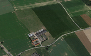 Malakoff Farm today, just to the west of Solpherino Farm Cemetery