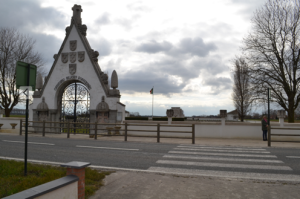 Entrance to the Portuguese cemetery at Neuve Chapelle