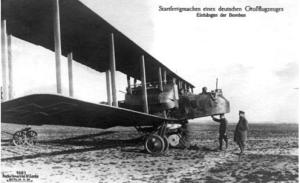 A Gotha GV introduced in 1917