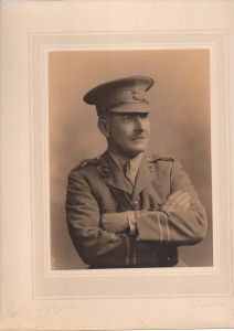 Lt Col. Robert Ormus Campbell. Photo courtesy of Angus Gordon http://www.tivertoncastle.com/