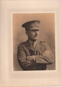 Lt Col. Robert Ormus Campbell. Photo courtesy of Angus Gordon http://www.tivertoncastle.com/