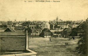 Estaires at the beginning of the war