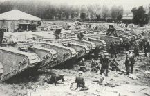 Tanks near St.Pol. Each with a crew of 8