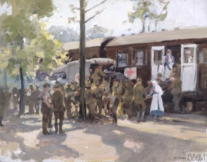 Red Cross Train, France (Art.IWM ART 1031)
