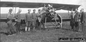 A Red Army Nieuport 21