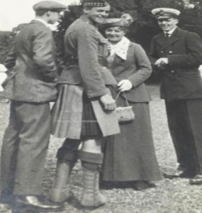 Kenneth Croal and members of the Sturrock family