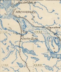 Map University of Michigan digital archive