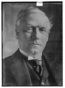 Herbert Henry Asquith. Library of Congress LC-DIG-ggbain-23315 http://loc.gov/pictures/resource/ggbain.23315/