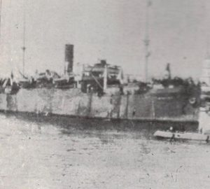 The Stephen at Archangel in May 1919