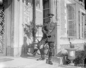 British Army General Henry Rawlinson at his Fourth Army headquarters at Querrieu Chateau. (Q 4032) © IWM. Original Source: http://www.iwm.org.uk/collections/item/object/205125115