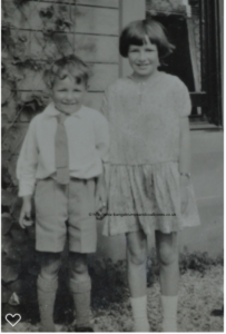Di and Elma's children Gordon and Ann